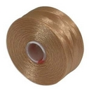 S-Lon D Beading Thread in Tan