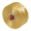 S-Lon D Beading Thread in Golden Yellow