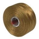 S-Lon D Beading Thread in Gold