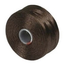 S-Lon D Beading Thread in Brown