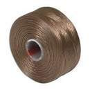 S-Lon D Beading Thread in Light Copper