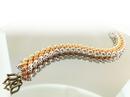 Luxe Lentil bracelet pattern