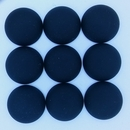 18mm Luna Soft Cabochon in Black