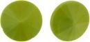 14mm Olive Green Matubo Rivoli
