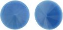 14mm Opaque Sky Blue Matubo Rivoli