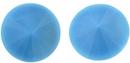 14mm Turquoise Blue Matubo Rivoli