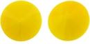 14mm Opaque Yellow Matubo Rivoli