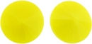 14mm Light Opaque Yellow Matubo Rivoli