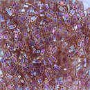 5g Quarter Tila beads in Transparent Topaz AB (QTL257)