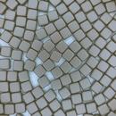 20 x 6mm Czech Tiles in Powder Brown