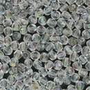 50 x 5mm faceted beads in Crystal Lustre AB
