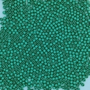 100 x 2mm round beads in Saturated Metallic Island Paradise
