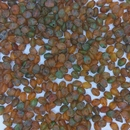 50 x pinch beads in Earth Mix (3x5mm)