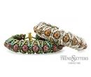 Denali Cuff Bracelet by Carole Ohl