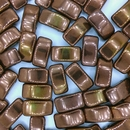 5 x Carrier Beads in Bronze (9x17mm)