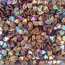 5g Dragon Scale beads in Copper Rainbow