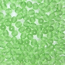 50 x 5mm faceted Light Emerald beads
