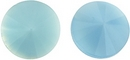 12mm Matubo Rivoli in Light Blue Pearl