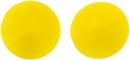 12mm Matubo Rivoli in Opaque Yellow