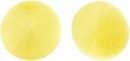 12mm Matubo Rivoli in Yellow Pearl