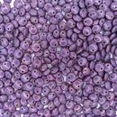 25 x 6mm Lentils in Lila Vega Lustre