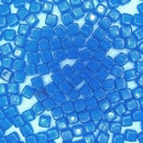 50 x CzechMate tiles in Capri Blue Gold Marbled