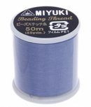 MT10 - 50m Miyuki beading thread in Light Blue