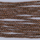 300 x 2mm faceted beads in Bronze - 10% discount