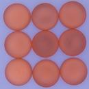 18mm Luna Soft Cabochon in Rose Peach
