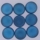 18mm Luna Soft Cabochon in Denim Blue