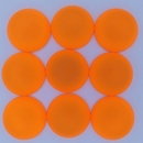 18mm Luna Soft Cabochon in Fluorescent Orange