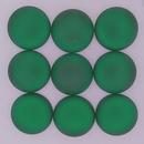 18mm Luna Soft Cabochon in Emerald Green