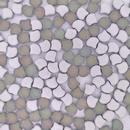 25 x Ginkgo beads in Matt Backlit Utopia