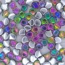 25 x Ginkgo beads in Backlit Utopia