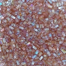 5g Half Tila beads in Orange Rainbow (HTL4576)