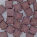 2 x 12mm Pyramids in Matt Chalk Vega Lustre