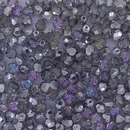 50 x 6mm faceted beads in Crystal Vitrail Light