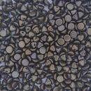 25 x Button beads in Zinc Iris