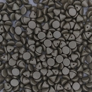 25 x Button beads in Metallic Grey