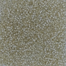577 - 10g Size 11/0 Miyuki seed beads in Cream Silver lined Alabaster