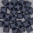 2 x 12mm pyramids in Black Lagoon