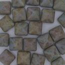 2 x 12mm pyramids in Matt Chalk White 85432