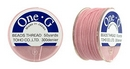 PT-50-5 - 50 yards of Toho One-G beading thread in Pink