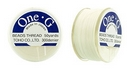 PT-50-1 - 50 yards of Toho One-G beading thread in White