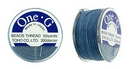 PT-50-10 - 50 yards of Toho One-G beading thread in Blue