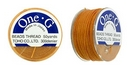 PT-50-15 - 50 yards of Toho One-G beading thread in Orange