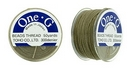 PT-50-20 - 50 yards of Toho One-G beading thread in Light Khaki