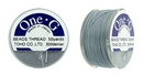 PT-50-3 - 50 yards of Toho One-G beading thread in Grey