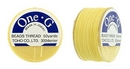 PT-50-9 - 50 yards of Toho One-G beading thread in Light Yellow