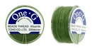 PT-50-12 - 50 yards of Toho One-G beading thread in Green